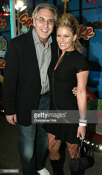 Albie Hecht President of Spike TV and Nicole Eggert