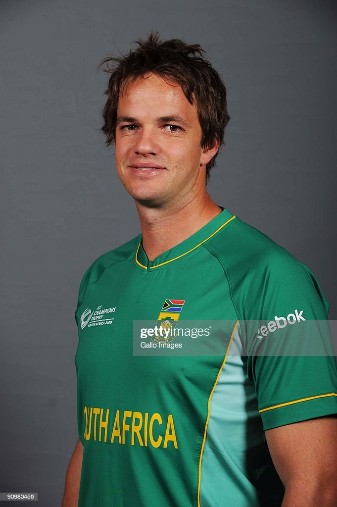 Albie Morkel of South Africa poses during an ICC Champions photocall session at Sandton Sun on September 19, 2009 in Sandton, South Africa.
