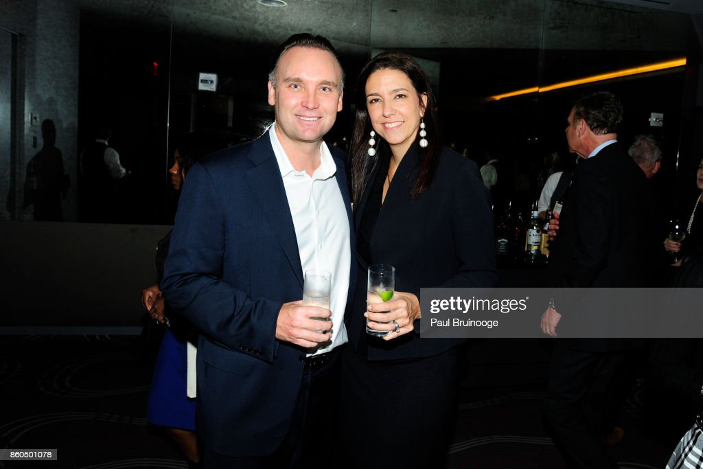 Albin Alex and Helen Allen attend the Decoration and Design Building celebrates the 2017 winners of the DDB's 10th Anniversary of Stars of Design Awards at D&D Building on October 11, 2017 in New York City.