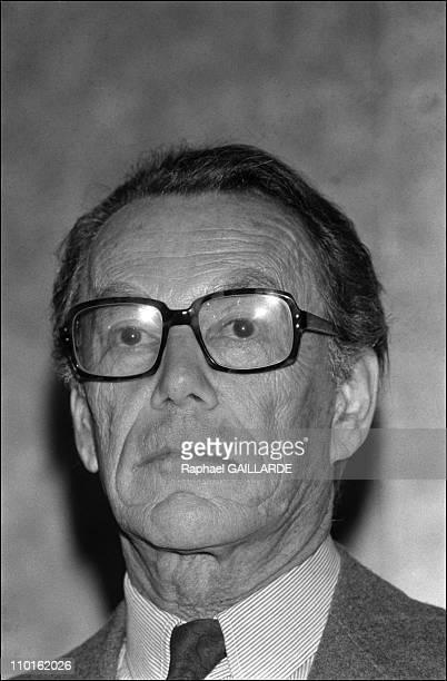 Albin Chalandon quits ElfAquitaine in Paris France on June 15 1983