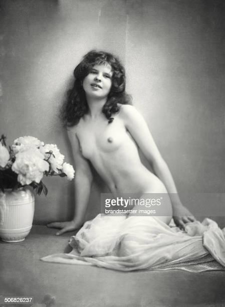 Albine Ruprich Mistress of Peter Altenberg 1914 Photograph by Franz Xaver Setzer