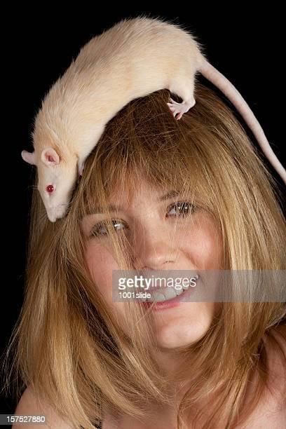 """Albino Rat """"mashustik"""""""