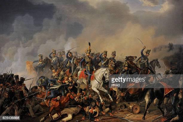 Albrecht Adam . German painter. Battle Scene, 1838. Oil on canvas. The State Hermitage Museum, Saint Petersburg, Russia.