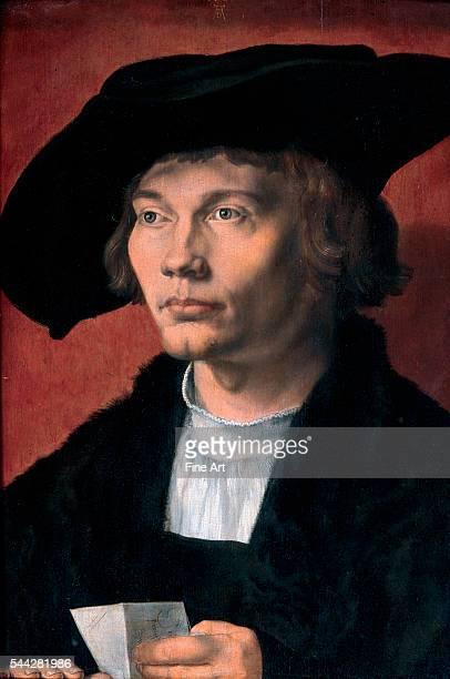 Albrecht Dürer Bernhard von Reesen oil on panel 455 × 315 cm Gemäldegalerie Alte Meister Staatliche Kunstsammlungen Dresden Germany