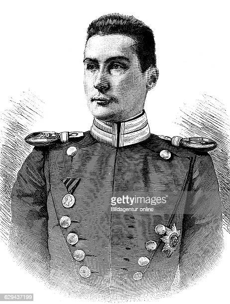 Albrecht duke of wuerttemberg 1865 1939 historical illustration circa 1893