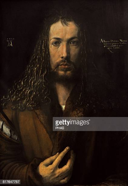 Albrecht Durer German painter SelfPortrait Alte Pinakothek Munich Germany