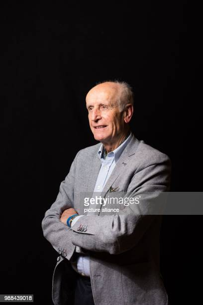 Albrecht Glaser deputy chairman of the Alternative for Germany stands in a mobile photo studio in the course of the AfD's party conference at the HCC...