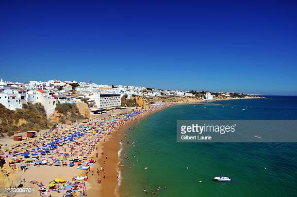 Albufeira beach, The Algarve, Portuga