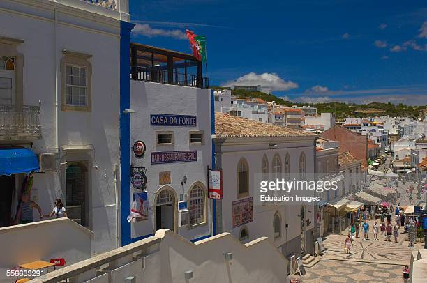 Albufeira Old Town Algarve Portugal Europe