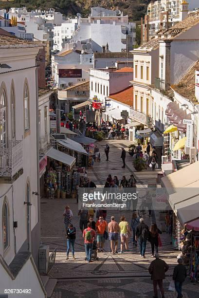 albufeira - faro city portugal fotografías e imágenes de stock