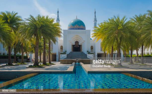 albukhary mosque - floating mosque stock pictures, royalty-free photos & images