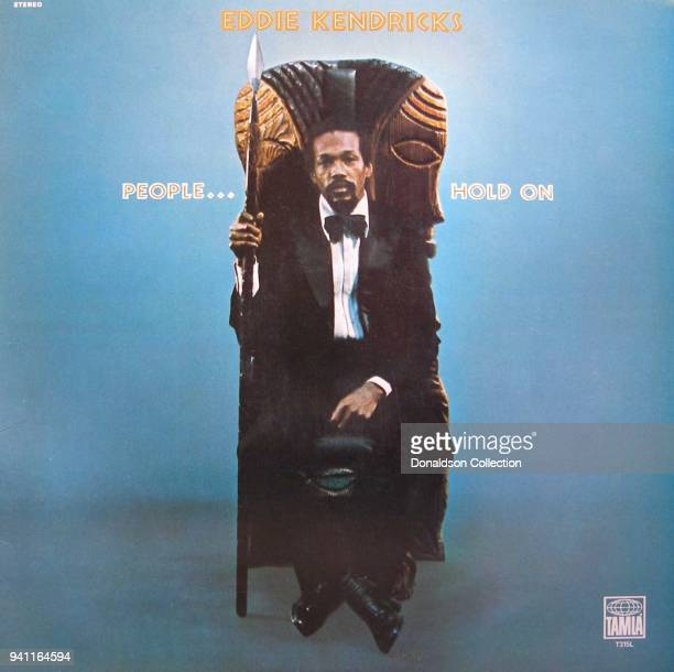 Album cover for Eddie Kendricks 'People Hold On' which was released in 1972