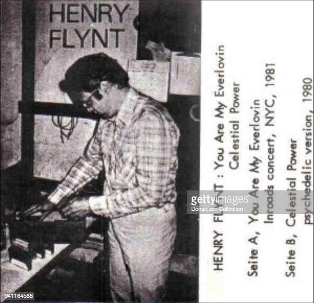 Album cover for Henry Flynt 'You Are My Everlovin'/Celestial Power' which was released in 1986