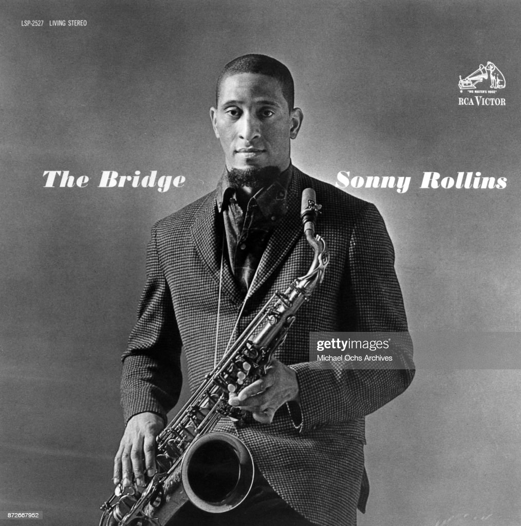 Album cover for jazz musician Sonny Rollins album 'the Bridge' which was released in 1962.