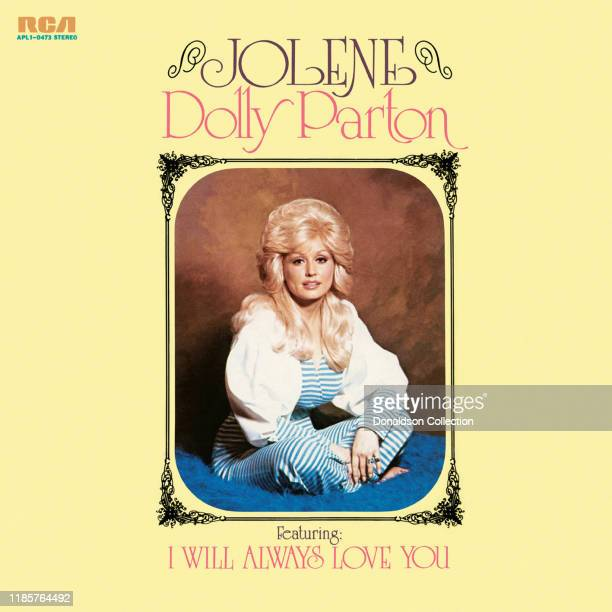 """Album cover for """"Jolene"""" by Dolly Parton which was released in 1974."""