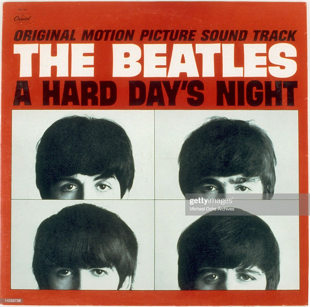 """The Beatles """"A Hard Day's Night"""" Album Cover : ニュース写真"""