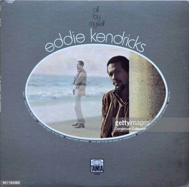 Album cover the Eddie Kendricks 'All By Myself' which was released in 1971