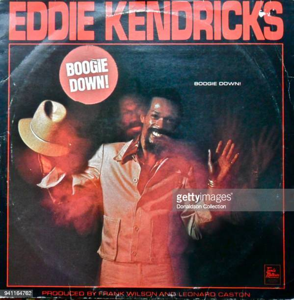 Album cover the Eddie Kendricks 'Boogie Down' album which was released in 1974