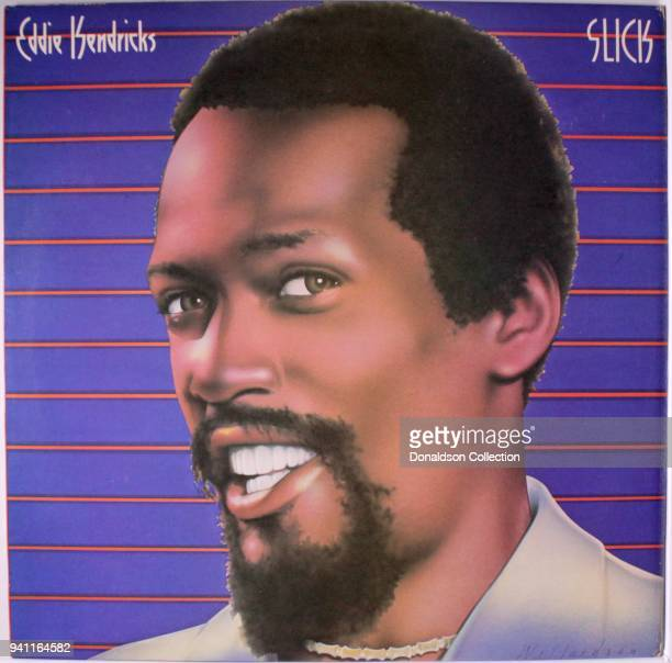 Album cover the Eddie Kendricks 'Slick' which was released in 1977