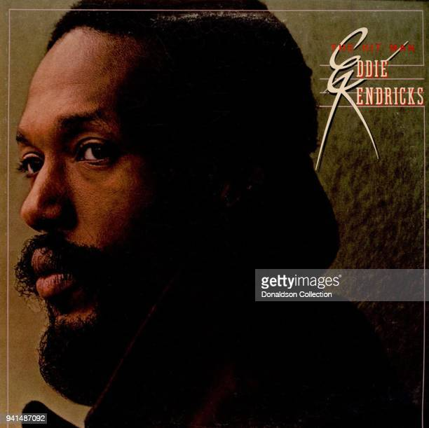 Album cover the Eddie Kendricks 'The Hit Man' which was released in 1975