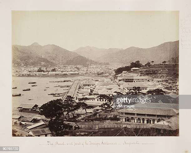 JAPAN JANUARY 05 Albumen print by Felice Beato One of the first war photographers Beato worked with James Robertson in the Middle East and the Crimea...