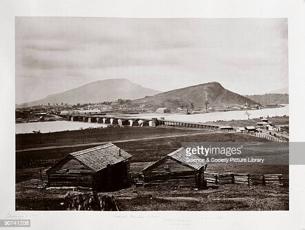 Albumen print by G N Barnard from the album assembled by John Downes Rochfort Rochfort visited all the major American Civil War sites in 1867 and...
