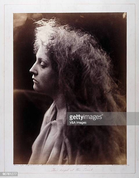 UNITED KINGDOM JANUARY 28 Albumen print by Julia Margaret Cameron of Mary Hillier one of Cameron's maids Cameron often used friends servants and...