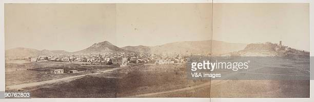 'GREECE FEBRUARY 14 Albumen print from calotype negative by Lieut Claudius Galen Wheelhouse From the Royal Photographic Society album 'Photographic...