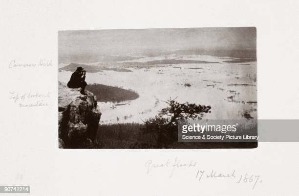 Albumen print from the album assembled by John Downes Rochfort Rochfort visited all the major American Civil War sites in 1867 and some of the...