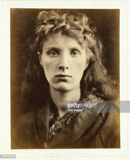 UNITED KINGDOM Albumen print Photograph by Julia Margaret Cameron inspired by a line from John Milton's poem L'Allegro Camerons photographic...