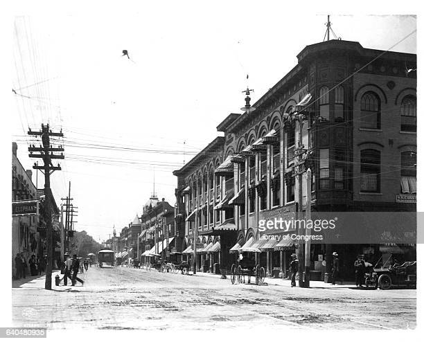 NM Albuquerque business street scene oto by Detroit Co c1908 Lot 9148