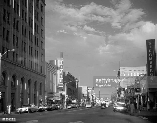 Albuquerque The principal street April 1964