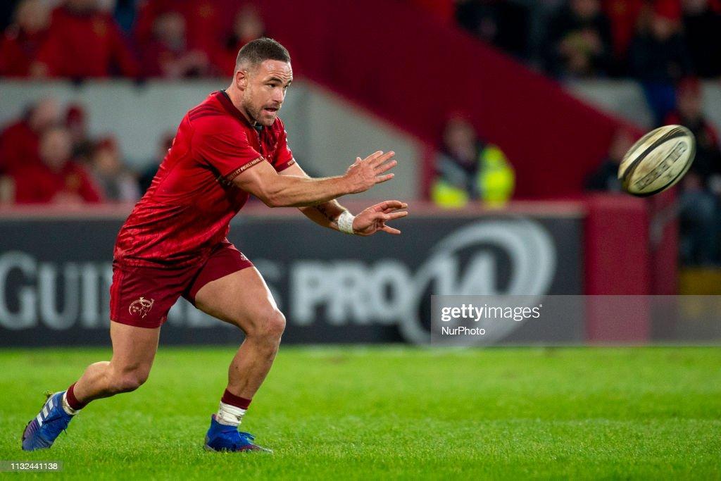 IRL: Munster Rugby v Zebre Rugby - Guinness PRO 14 Round 18