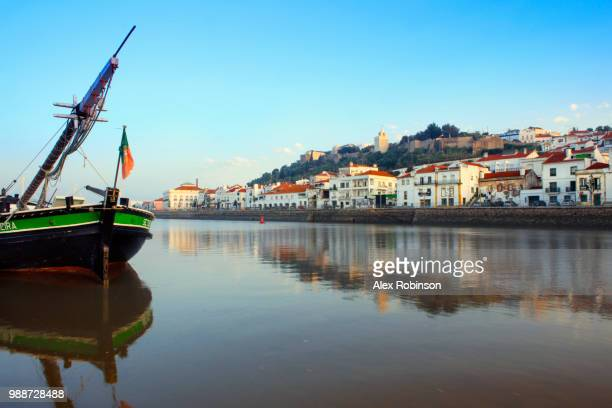 Alcacer do Sal and the Sado River, Alentejo, Portugal, Europe