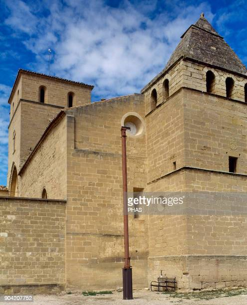 Alcañiz province of Teruel Aragon Spain Los Calatravos Castle convent 12th century Gothic style A National StateRun Hotel is hosted there since 1970's