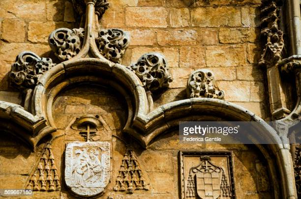 alcalá de henares cathedral - alcala de henares stock pictures, royalty-free photos & images