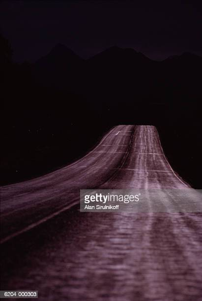 alcan highway - sirulnikoff stock photos and pictures