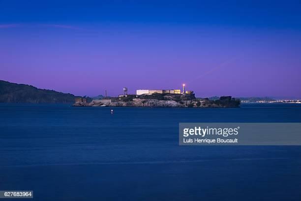 Alcatraz & Blue Hour
