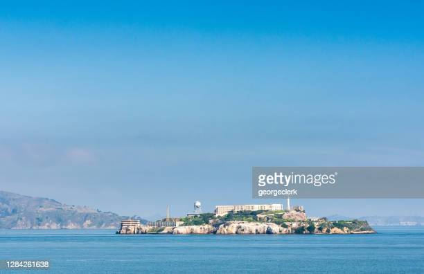 alcatraz island - north beach san francisco stock pictures, royalty-free photos & images