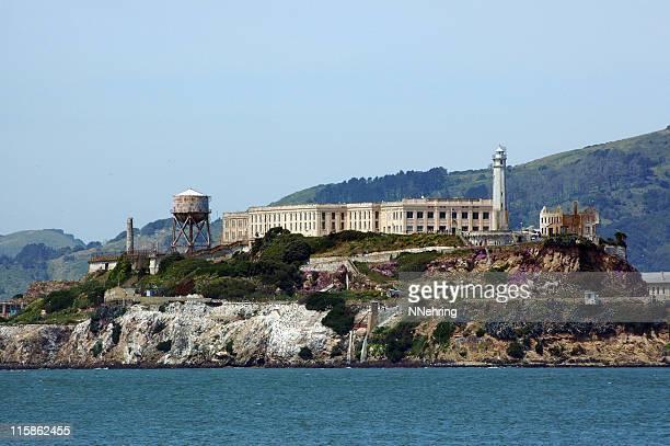 alcatraz island, san francisco, california - alcatraz island stock pictures, royalty-free photos & images