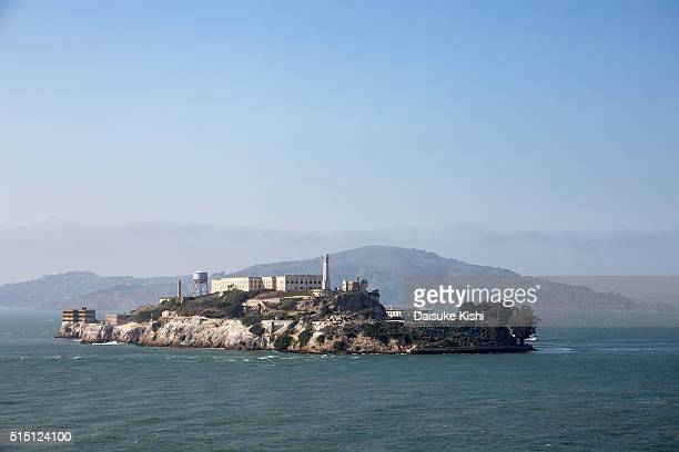 alcatraz island, san francisco - alcatraz stock photos and pictures
