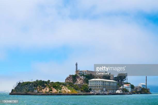 alcatraz island, san francisco, usa - north beach san francisco stock pictures, royalty-free photos & images