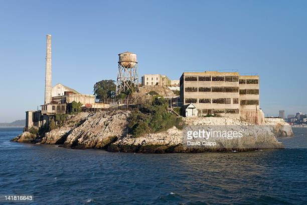 Alcatraz Prison, an island prison in San Francisco Bay, off San Francisco, California, United States of America, North America