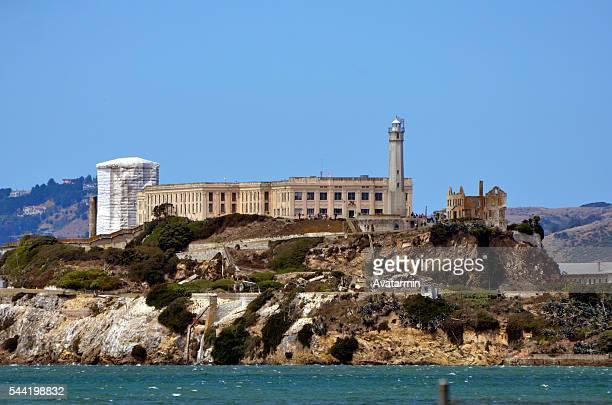 Alcatraz prison on Alcatraz island - San Francisco bay - California - USA
