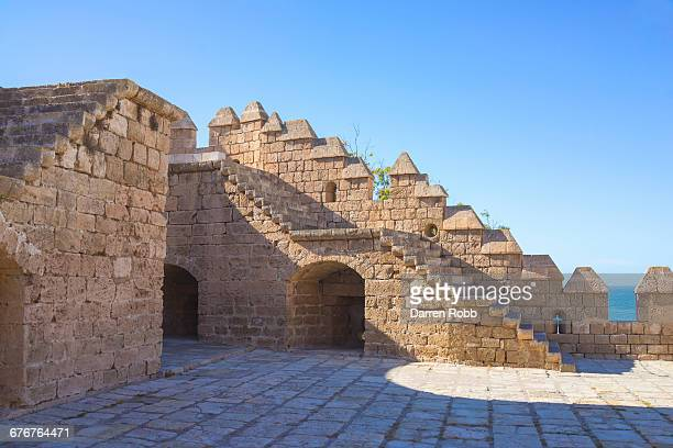 alcazaba fortress, almeria, spain - アルメリア ストックフォトと画像