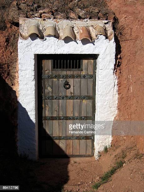 Alcazar de San Juan Ciudad Real Cave house in the field