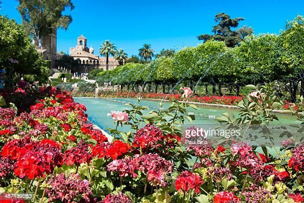 Alcazar of Cordoba garden