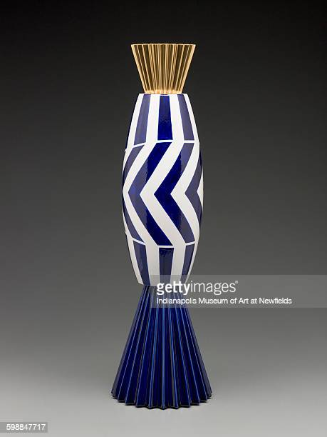 Alchemilla vase from the Museum Series by Italian artist Alessandro Mendini 1993 Gift of The Liliane and David M Stewart Collection
