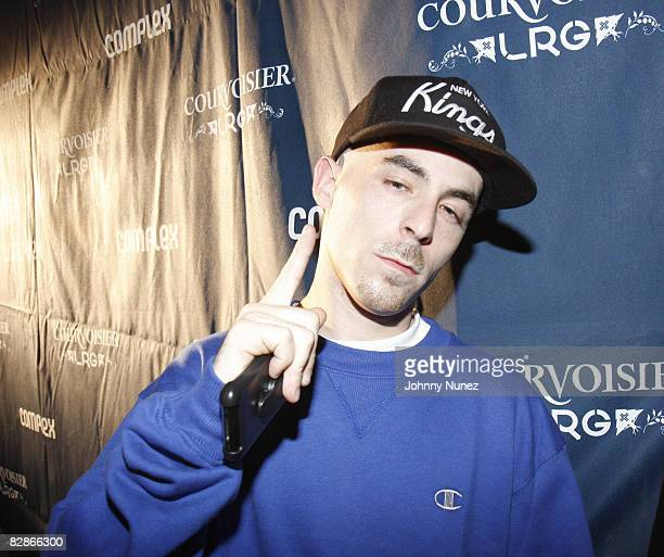Alchemist attends Courvoisier and LRG PopUp Shop Tour in New York May 15 2008 in New York City