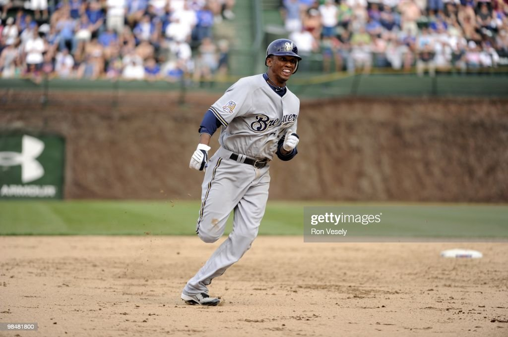 Milwaukee Brewers v Chicago Cubs : News Photo
